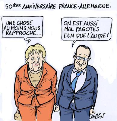 Georges Million 50 Eme Anniversaire Du Traite De L Elysee